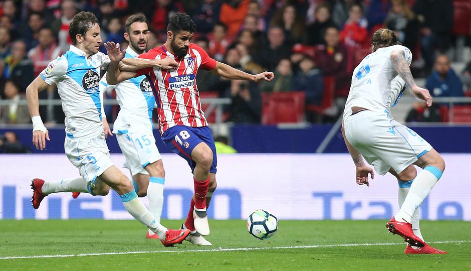 Temp. 17/18 | Atlético de Madrid - Deportivo de La Coruña | 01-04-18 | Jornada 30 | Costa