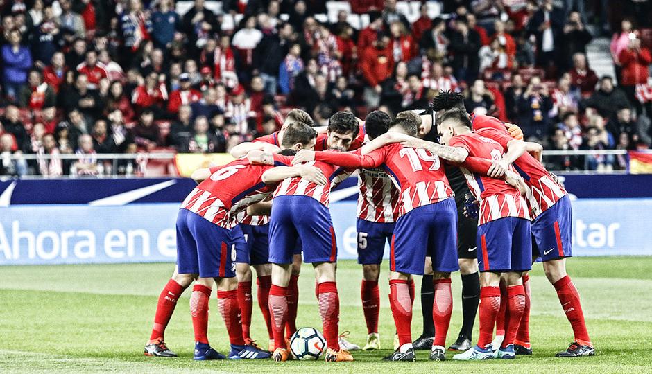 temporada 17/18. Partido Wanda Metropolitano. Atlético Deportivo. La otra mirada. Alberto