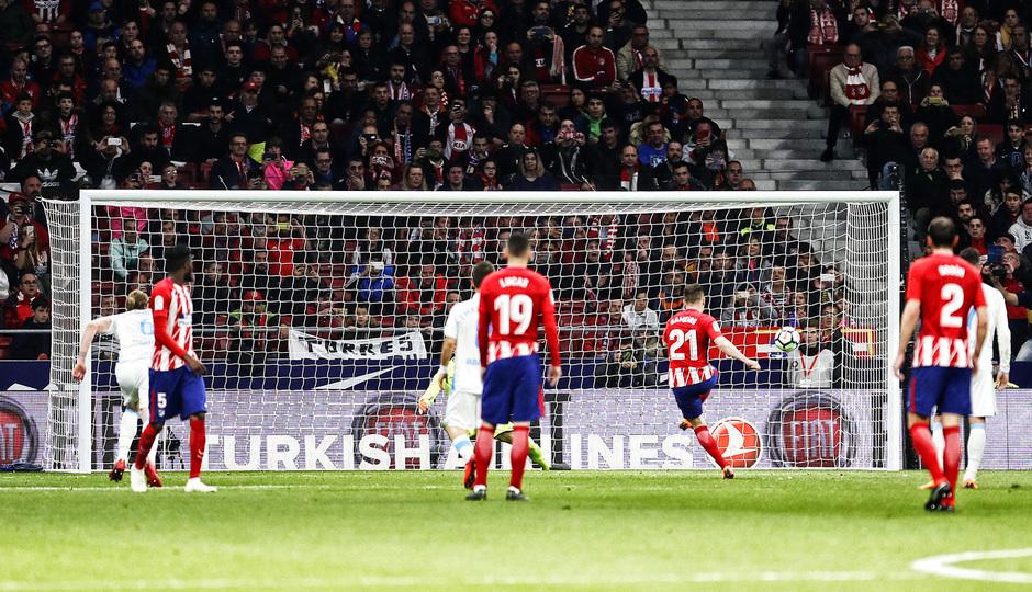 temporada 17/18. Partido Wanda Metropolitano. Atlético Deportivo. La otra mirada. Álex