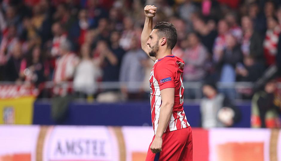 Temp. 17-18 | Atlético de Madrid - Sporting de Portugal | 05-04-2018 | Koke