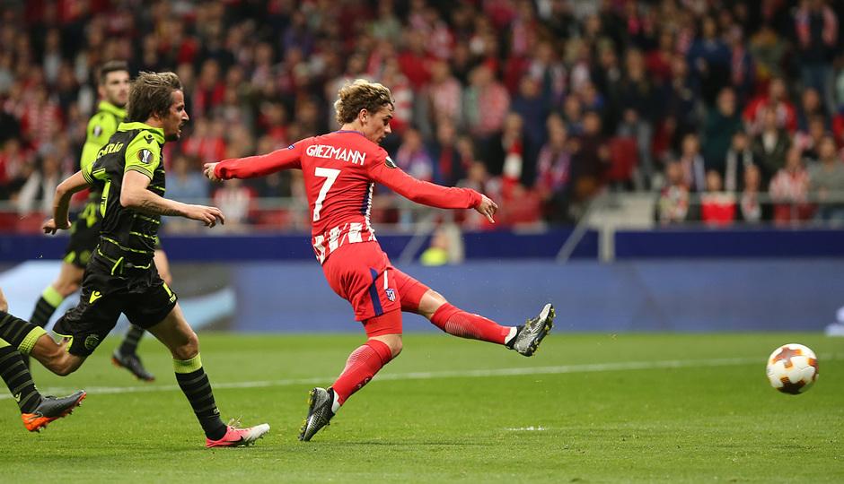 Temp. 17-18 | Atlético de Madrid - Sporting de Portugal | 05-04-2018 | Griezmann gol