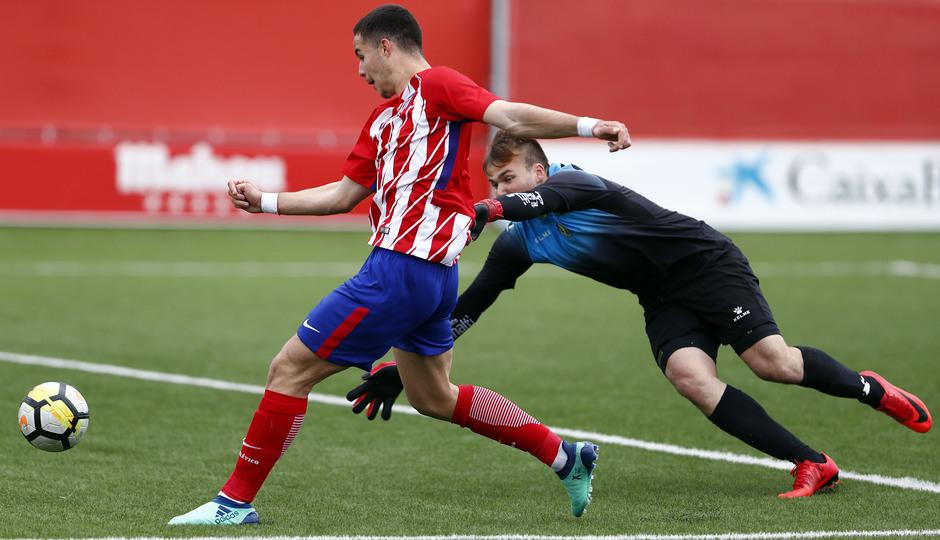 Temp. 17-18 | Triunfo liguero del Atlético Madrileño | 08-04-2018 | Rubén del Campo