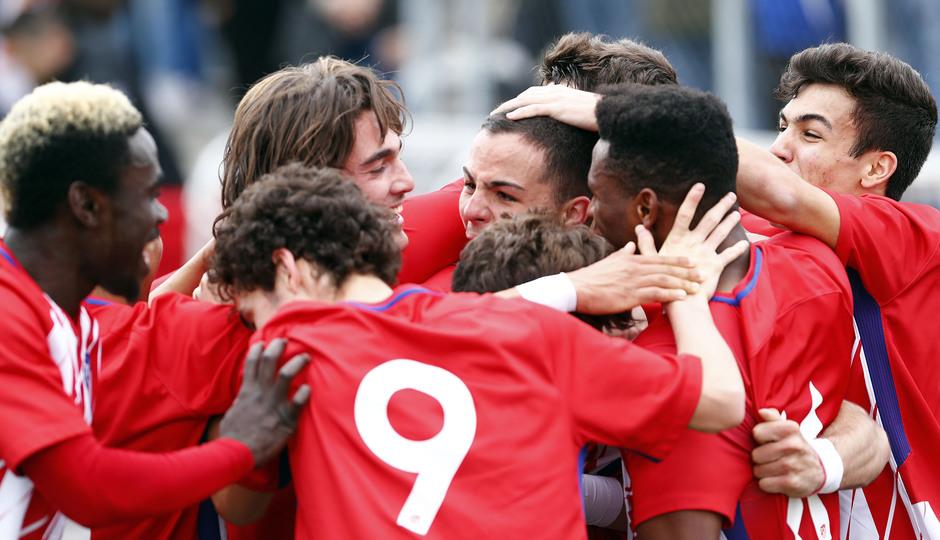 Temp. 17-18 | Triunfo liguero del Atlético Madrileño | 08-04-2018 | Celebración