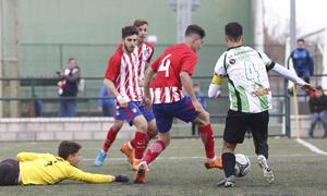 Temp. 17-18   Almendralejo - Atlético de Madrid Juvenil A. Aitor Puñal