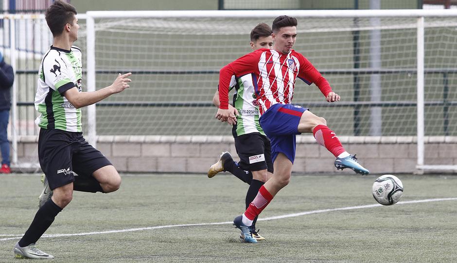 Temp. 17-18 | Almendralejo - Atlético de Madrid Juvenil A. Joaquín