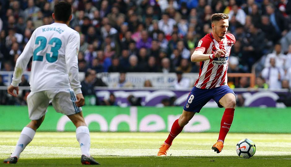 Temp. 17-18 | Real Madrid - Atlético de Madrid | 08-04-2018 | Saúl