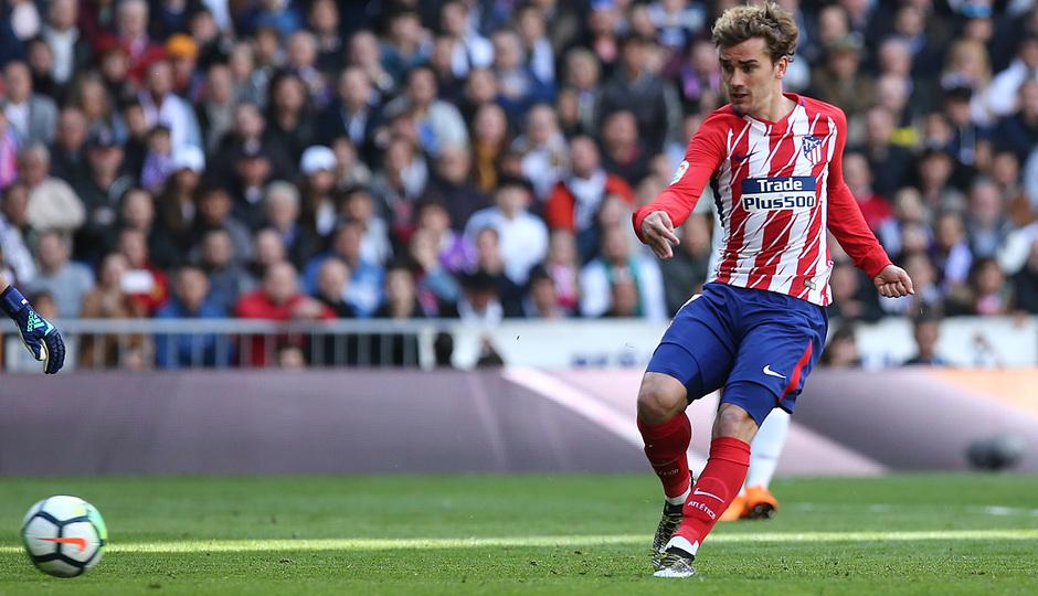 Temp. 17-18 | Real Madrid - Atlético de Madrid | 08-04-2018 | Griezmann