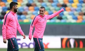 Temp. 17-18 | Europa League | Entrenamiento en el José Alvalade | Griezmann y Costa