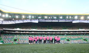 Temp. 17-18 | Europa League | Entrenamiento en el José Alvalade |