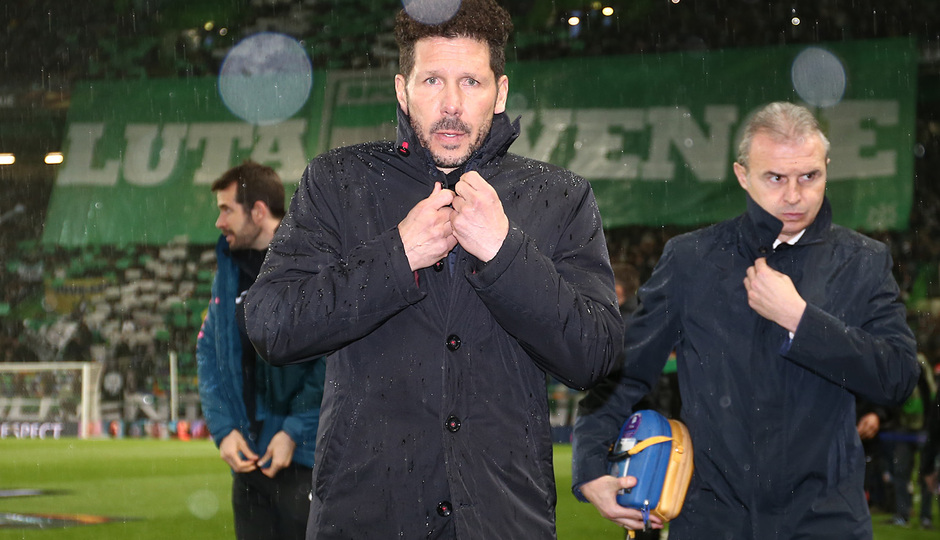 Temp. 17-18 | Vuelta de cuartos de la Europa League | 12-04-2018 | Sporting CP - Atleti | Simeone