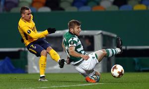 Temp. 17-18   Vuelta de cuartos de la Europa League   12-04-2018   Sporting CP - Atleti   Griezmann