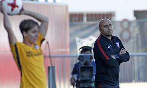 Temp 17/18 | Sevilla FC - Atlético de Madrid Femenino | Jornada 26 | 14-04-18 | Villacampa