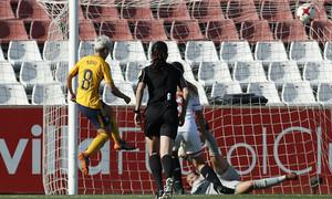Temp 17/18 | Sevilla FC - Atlético de Madrid Femenino | Jornada 26 | 14-04-18 | Gol de Sonia Bermúdez