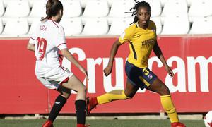 Temp 17/18 | Sevilla FC - Atlético de Madrid Femenino | Jornada 26 | 14-04-18 | Ludmila Da Silva