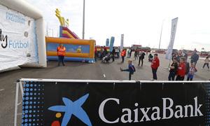 Temp. 17-18   Atlético de Madrid - Levante   Día del Niño   CaixaBank