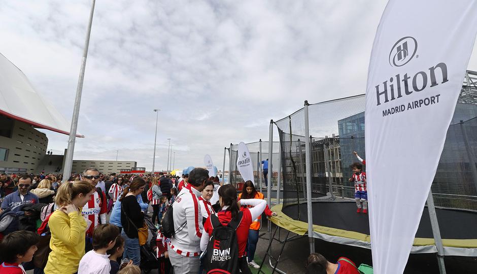 Temp. 17-18 | Atlético de Madrid - Levante | Día del Niño | Hilton