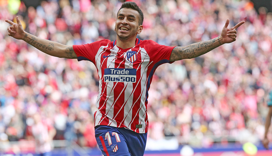 Temp 17/18 | Atlético de Madrid - Levante | Jornada 32 | 15-04-18 | Correa