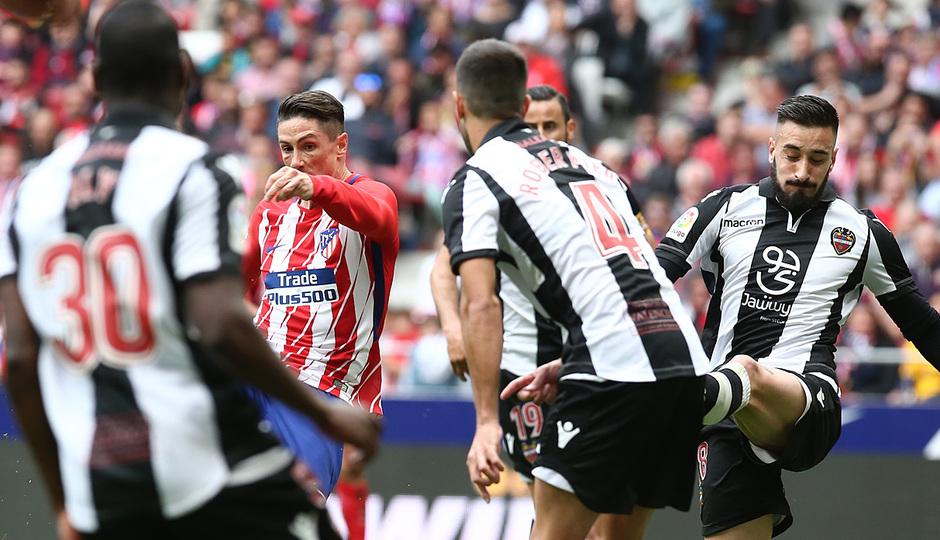 Temp 17/18 | Atlético de Madrid - Levante | Jornada 32 | 15-04-18 | Fernando Torres