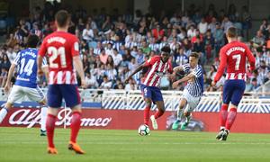 Temp 17/18 | Real Sociedad - Atlético de Madrid | Jornada 33 | 15-04-18 | Thomas