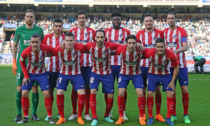 Temp 17/18 | Real Sociedad - Atlético de Madrid | Jornada 33 | 19-04-18 | Once