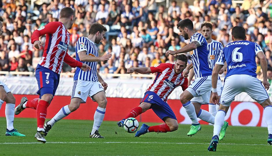 Temp 17/18 | Real Sociedad - Atlético de Madrid | Jornada 33 | 19-04-18 | Koke