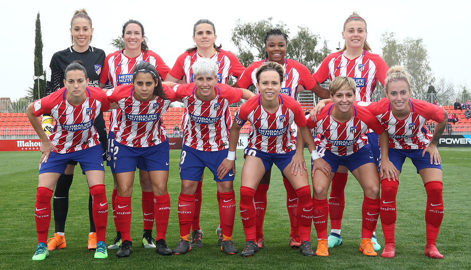 Temp 17/18 | Atlético de Madrid - Espanyol | Jornada 27 | Once