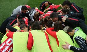 Temp 17/18 | Atlético de Madrid - Espanyol | Jornada 27 | Grito