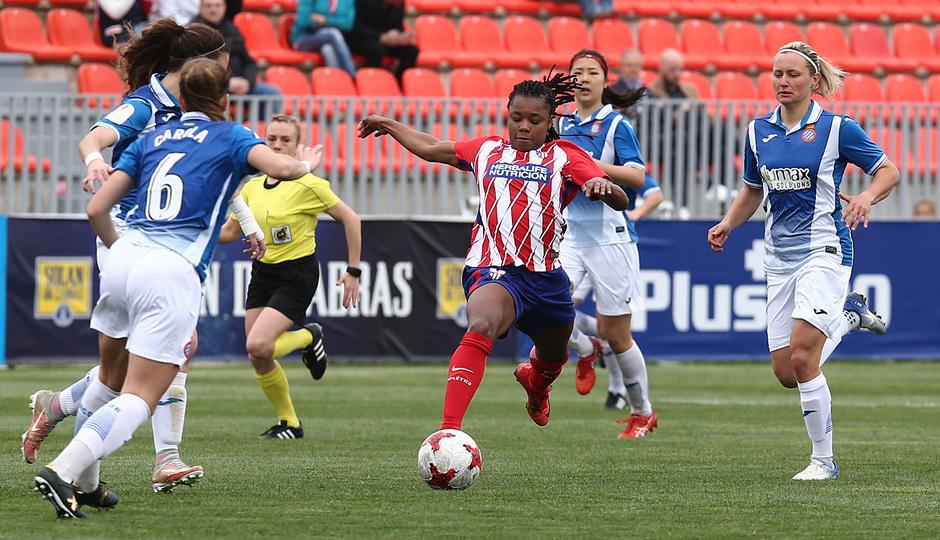 Temp 17/18 | Atlético de Madrid - Espanyol | Jornada 27 | Ludmila