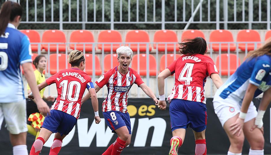 Temp 17/18 | Atlético de Madrid - Espanyol | Jornada 27 | Celebración