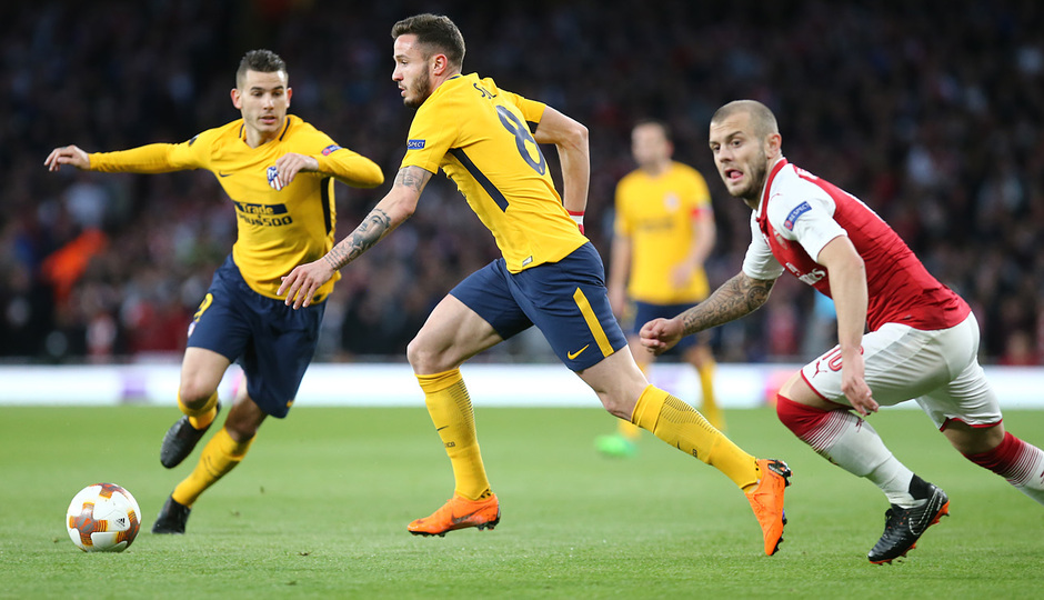 Temp. 17-18 | Arsenal - Atlético de Madrid | Ida de semifinales Europa League | Saúl y Lucas