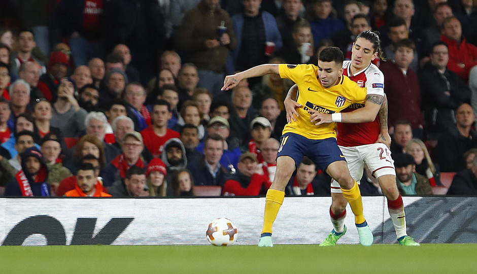 Temp. 17-18 | Arsenal - Atlético de Madrid | Ida de semifinales Europa League | Correa