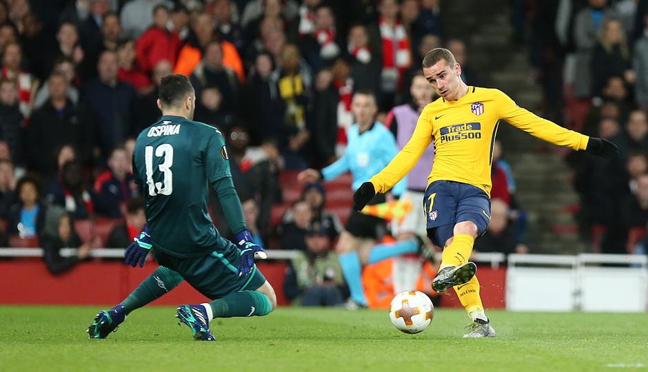 Temp. 17-18 | Arsenal - Atlético de Madrid | Ida de semifinales Europa League | Griezmann