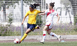 Temp 17/18 | Rayo Vallecano - Atlético de Madrid | Jornada 28 | Ludmila