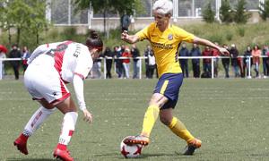 Temp 17/18 | Rayo Vallecano - Atlético de Madrid | Jornada 28 | Sonia
