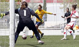 Temp 17/18 | Rayo Vallecano - Atlético de Madrid | Jornada 28 | Amanda Sampedro