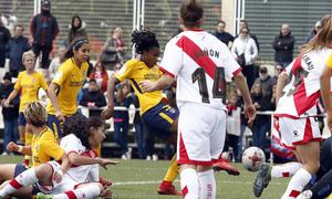 Temp 17/18 | Rayo Vallecano - Atlético de Madrid | Jornada 28 | Gol Ludmila