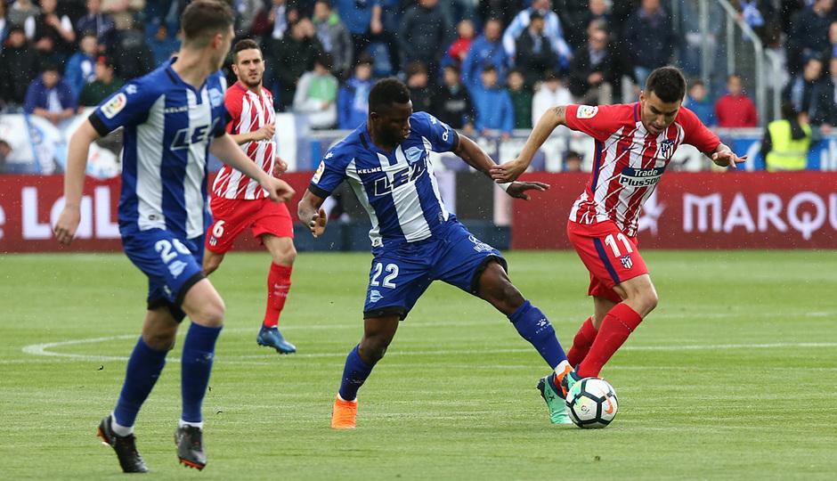 Temp 17/18 | Alavés - Atlético de Madrid | Jornada 35 | Correa