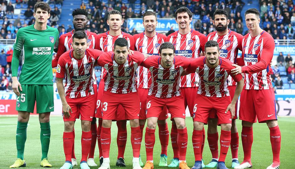 Temp 17/18 | Alavés - Atlético de Madrid | Jornada 35 | Once