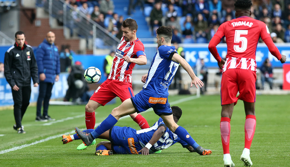 Temp 17/18 | Alavés - Atlético de Madrid | Jornada 35 | Gabi