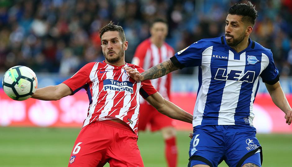 Temp 17/18 | Alavés - Atlético de Madrid | Jornada 35 | Koke