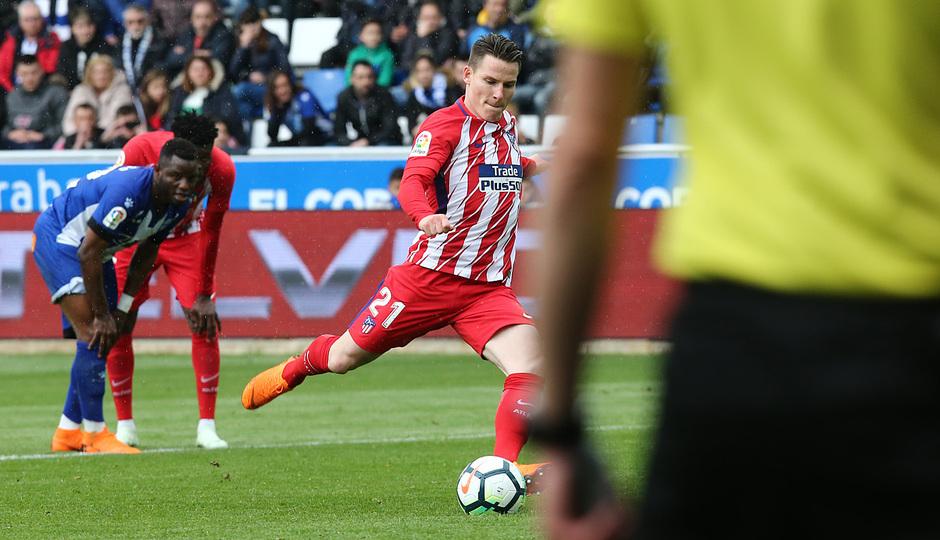 Temp 17/18 | Alavés - Atlético de Madrid | Jornada 35 | Gameiro