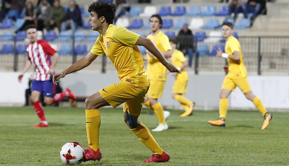 Temp. 17-18   Copa de Campeones   Juvenil A-Madrileño Juvenil A  