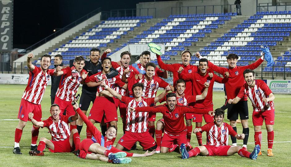 Temp. 17-18 | Copa de Campeones | Tenerife - Atlético de Madrid Juvenil A | Celebración