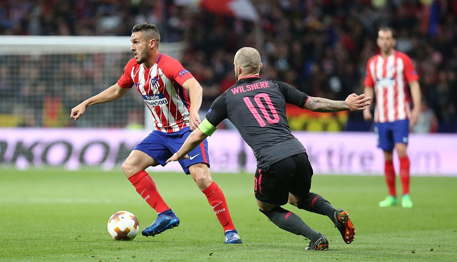 Temp 17/18 | Atlético de Madrid - Arsenal | Vuelta de semifinales Europa League | Koke