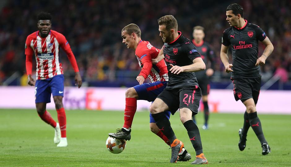 Temp 17/18 | Atlético de Madrid - Arsenal | Vuelta de semifinales Europa League | Griezmann
