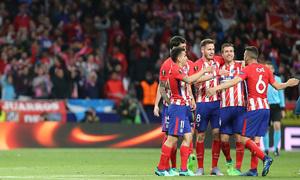 Temp 17/18 | Atlético de Madrid - Arsenal | Vuelta de semifinales Europa League | Celebración