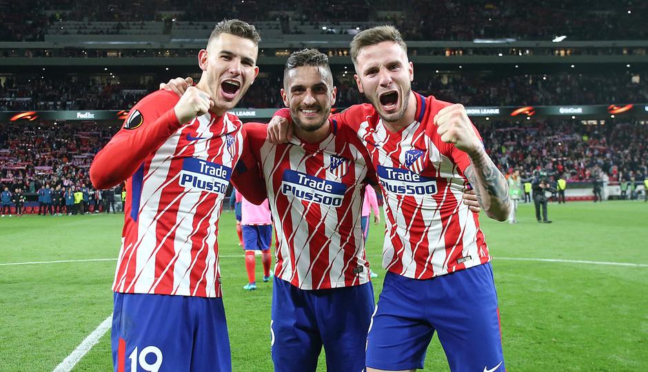 Temp 17/18 | Atlético de Madrid - Arsenal | Vuelta de semifinales Europa League | Lucas, Koke y Saúl