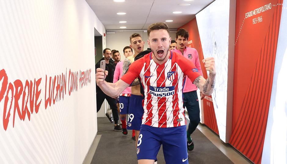 Temp 17/18 | Atlético de Madrid - Arsenal | Vuelta de semifinales Europa League | Saúl