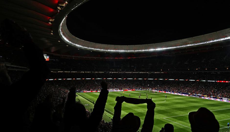 temporada 17/18. Partido Wanda Metropolitano. Atlético Arsenal. La otra mirada. Alex
