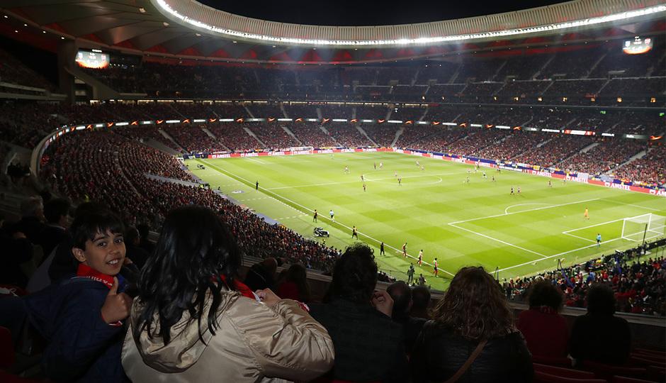 Temp 17/18   Atlético de Madrid - Arsenal   Vuelta de semifinales Europa League   115